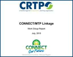 CONNECT/MTP Linkage: Work Group Report