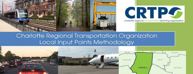 The CRTPO's adopted Local Input Points Methodology for NCDOT Prioritization 5.0